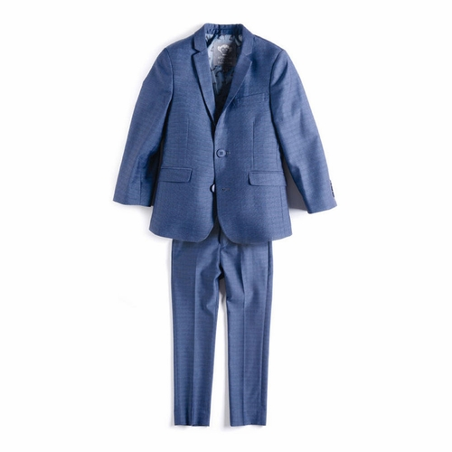 Appaman Blue Check Mod Suit
