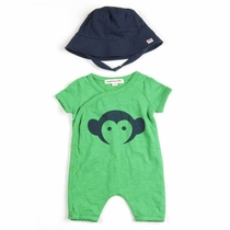 Appaman Romper and Hat Playwear Set