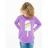 Chaser Girls Rainbow Popsicle Long Sleeve Tee