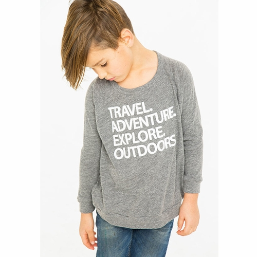 Chaser Travel & Adventure Long Sleeve Tee