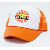 Chibella Hello Sunshine Kids Trucker Hat