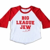 Detention Tees Big League Jew Raglan Tee