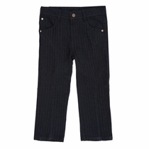 Fore!! by Axel & Hudson Navy Pinstripe Pants