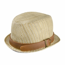 Fore!! by Axel & Hudson Trilby Basket Weave Fedora