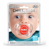 Fred & Friends Chill, Baby Panic Pacifier