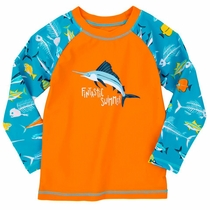 Hatley Fish Bones Rash Guard