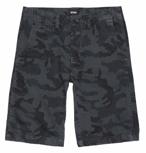 Hudson Heavy Metal Camo Shorts