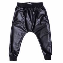 Joah Love Anson Faux Leather Joggers