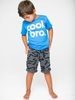 Joah Love Cool Bro Blue Tee