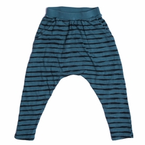 Joah Love Teal Ryder Striped Harem Pants