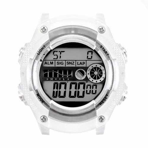 JoyJoy! Black Digital Watch Head