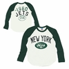 Junk Food New York Jets Long Sleeve Raglan