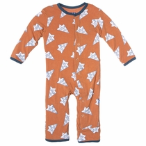 Kickee Pants Music Note Paper Airplanes Coverall
