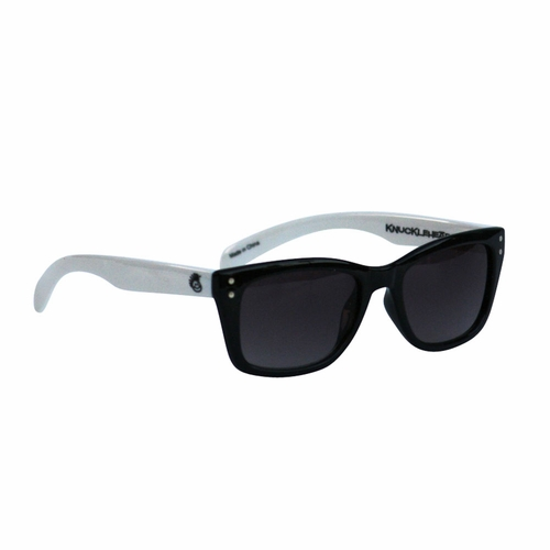 Knuckleheads Black & White Rockabilly Sunglasses