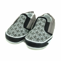 Me In Mind Checkered Skull Baby Shoes