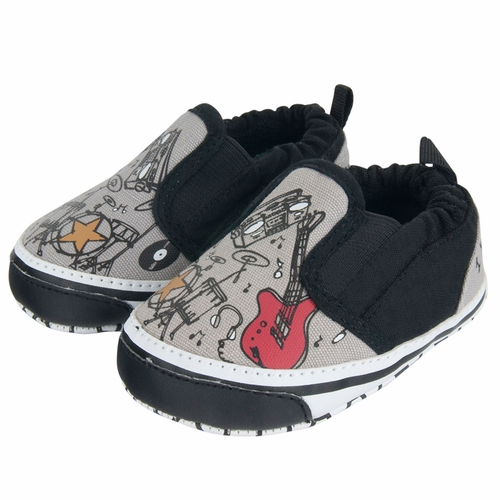 Me In Mind Wanna Rock Baby Shoes