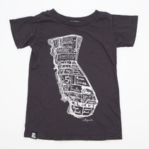 Mini & Maximus California Surf Map Tee