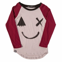 Mini & Maximus Smile Raglan Tee