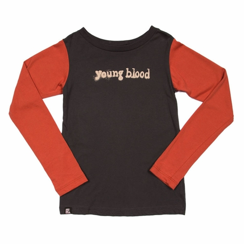 Mini & Maximus Young Blood Long Sleeve Tee