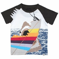 Mini Shatsu Shark Encounter Raglan Tee