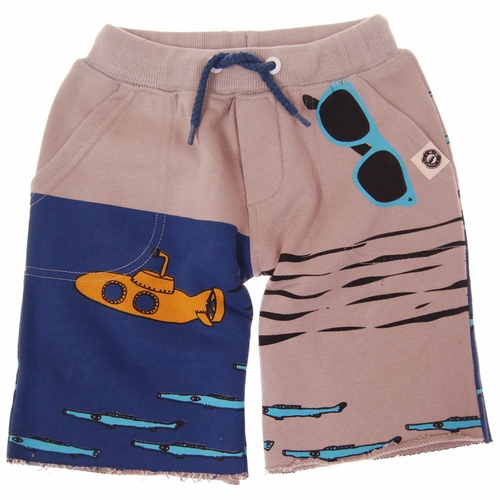 Mini Shatsu Yellow Submarine Shorts