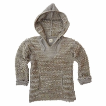 Nico Nico Camel Glen Handknit Hooded Sweater