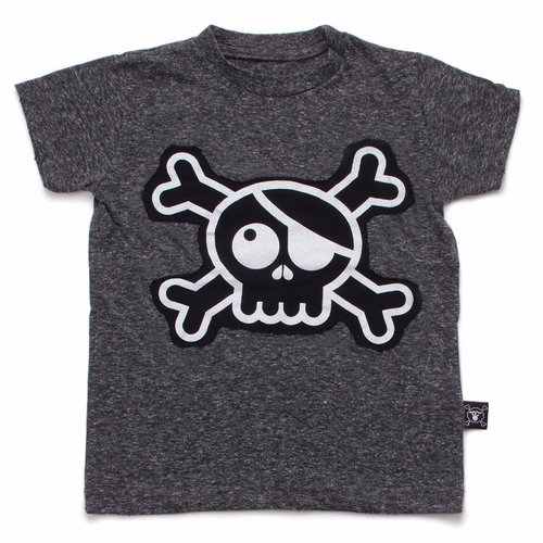 nununu Skull Patch Tee