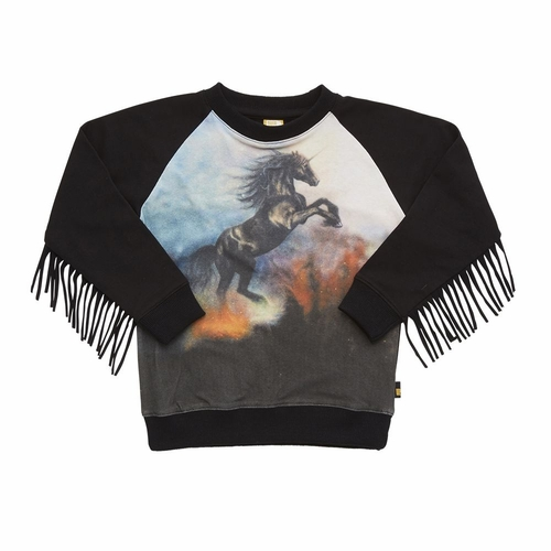 Rock Your Kid Girls Into The Mystic Long Sleeve Tee