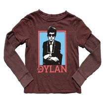 Rowdy Sprout Bob Dylan Long Sleeve Twofer Tee