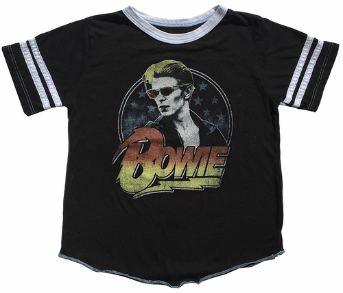 Rowdy Sprout David Bowie Varsity Tee