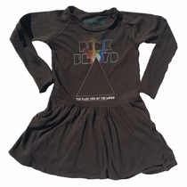 Rowdy Sprout Girls Pink Floyd Pocket Dress