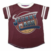Rowdy Sprout Johnny Cash Varsity Tee