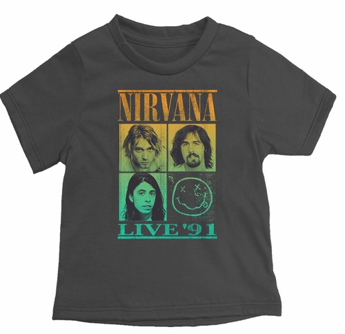 Rowdy Sprout Nirvana Live '91 Tee