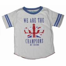 Rowdy Sprout Queen We Are The Champions Varsity Tee