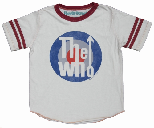 Rowdy Sprout The Who Varsity Tee