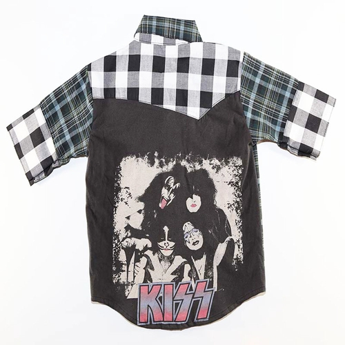 SandBox Rebel Kiss Brett Button Up (4)