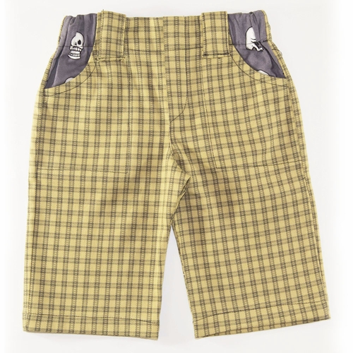 SandBox Rebel Kurt Checkered Plaid Skater Shorts