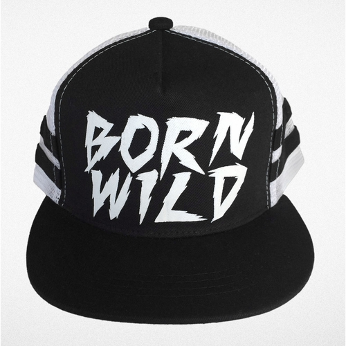 Tiny Whales Born Wild Trucker Hat