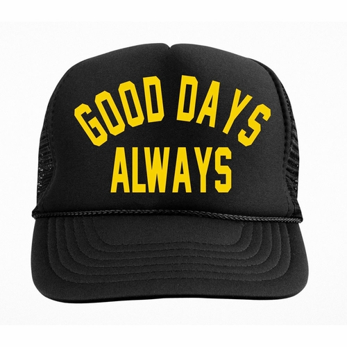 Tiny Whales Good Days Always Trucker Hat
