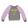 Trunk Girls Wonder Woman Long Sleeve Cropped Top