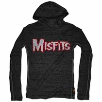 Trunk Misfits 3/4 Sleeve Hooded Tee