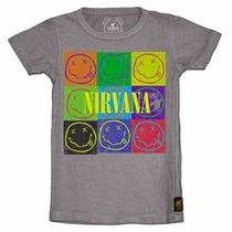 Trunk Nirvana Smiley Face Pop Art Tee