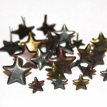 Anodized Star Brads