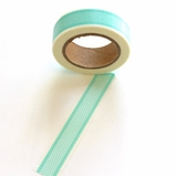 Checked Washi Tape - Teal