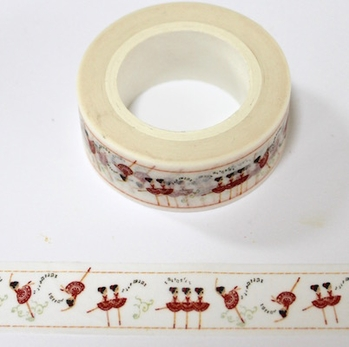 Dance Washi Tape