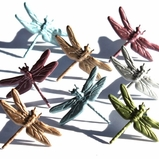 Dragonfly Brads - Metallic