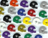 Football Helmet Eyelets - Single Colors