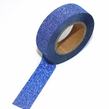 Glitter Dark Blue Washi Tape