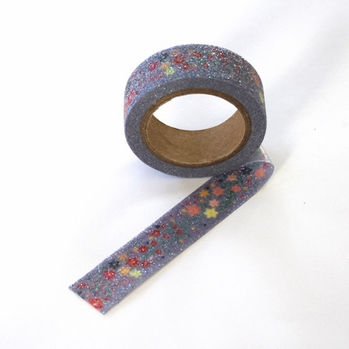 Glitter Flower Washi Tape