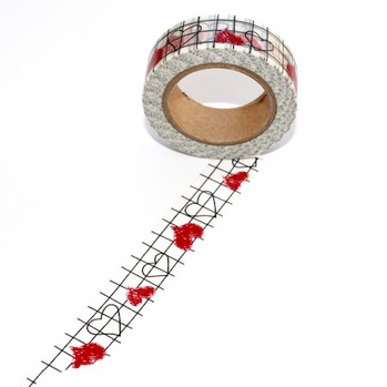 Heart Graph Washi Tape